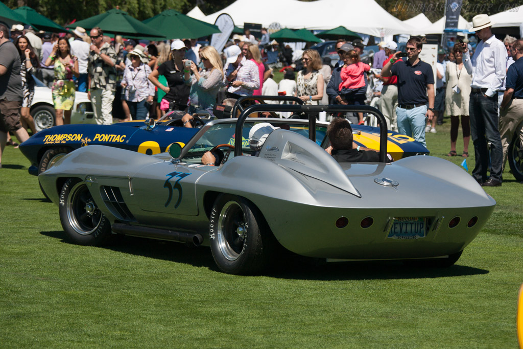 FiberFab Stingray Special - Chassis: 12612 - Entrant: Wesley Abendroth  - 2013 The Quail, a Motorsports Gathering