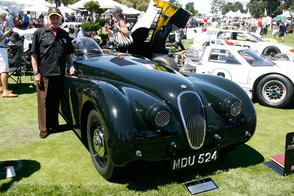 Jaguar XK120 - Chassis: 660986 - Entrant: Jeff Lotman  - 2013 The Quail, a Motorsports Gathering