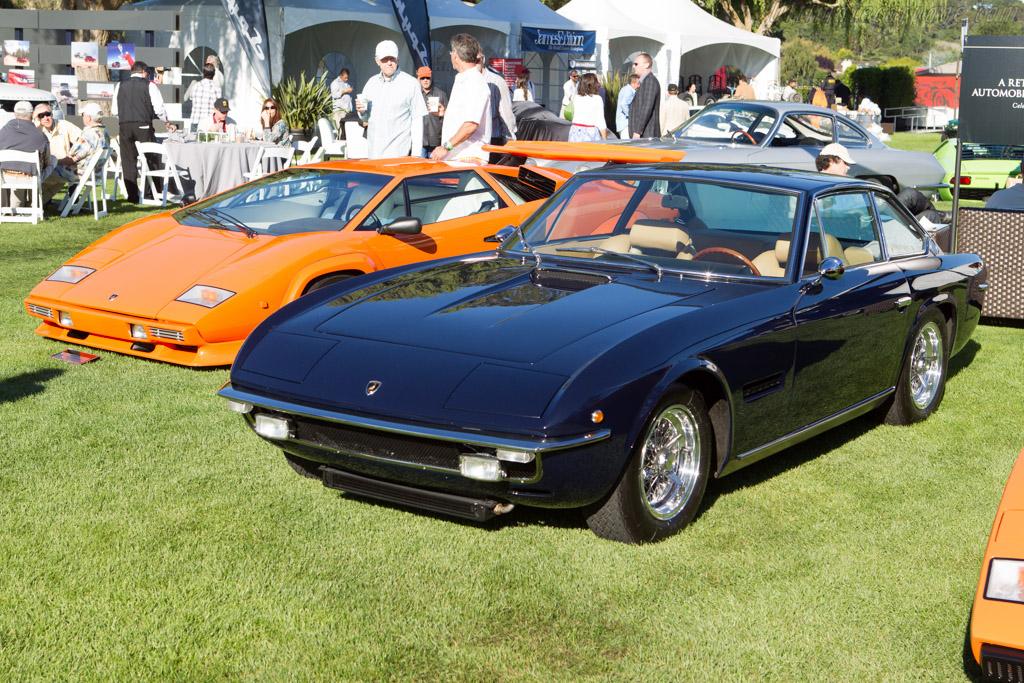 Lamborghini Islero GTS - Chassis: 6489 - Entrant: John A. Clark & Gayle Price  - 2013 The Quail, a Motorsports Gathering