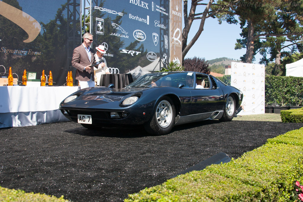 Lamborghini Miura P400 S  - Entrant: The Hon. Sir Michael Kadoorie  - 2013 The Quail, a Motorsports Gathering