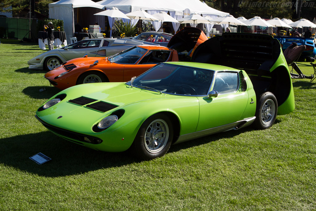 Lamborghini Miura P400 S - Chassis: 4170 - Entrant: Greg & Wendy Critchfield  - 2013 The Quail, a Motorsports Gathering