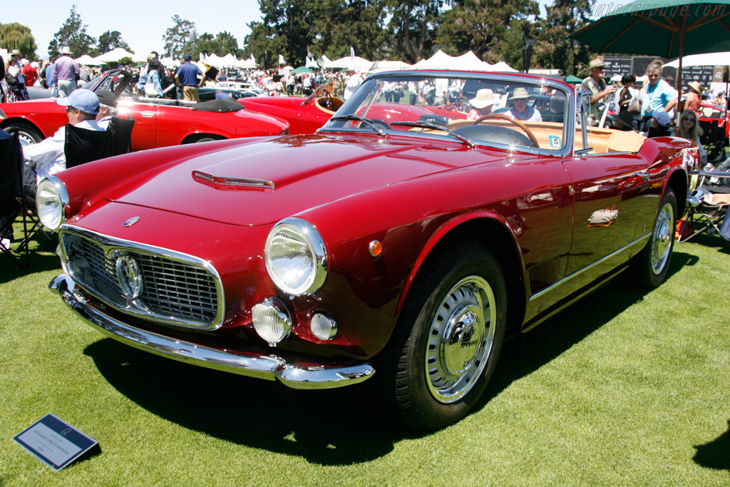 Maserati 3500 GT Spider - Chassis: AM101.1317 - Entrant: Bill & Sandi LeMasters  - 2013 The Quail, a Motorsports Gathering