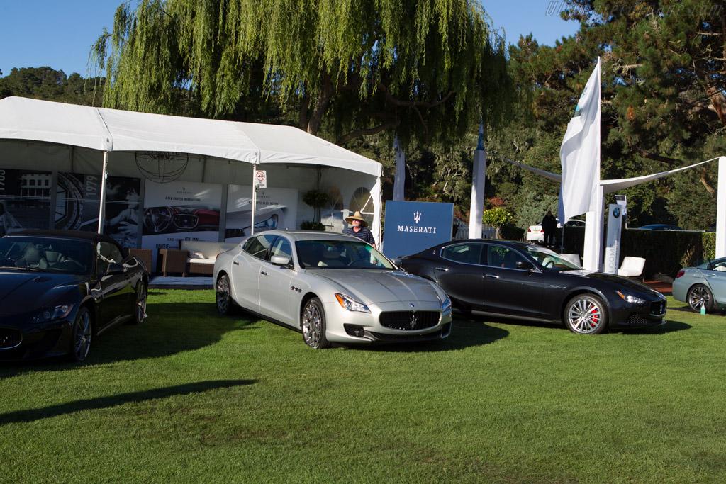 Maserati Ghibli S    - 2013 The Quail, a Motorsports Gathering