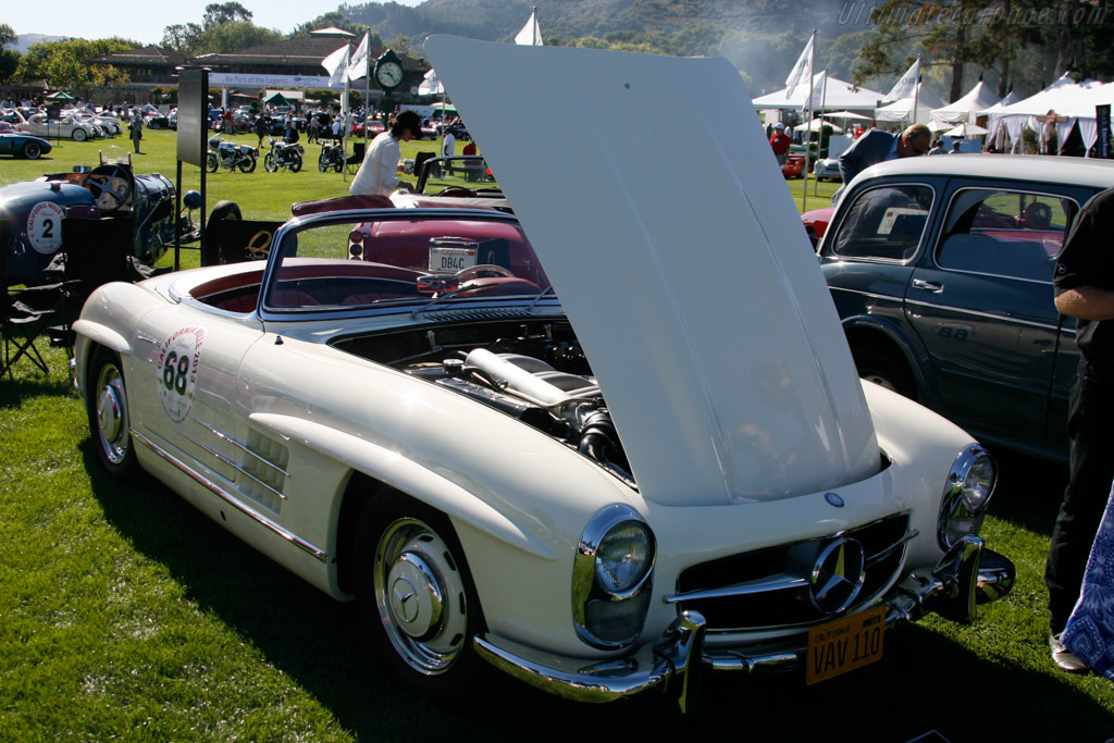 Mercedes-Benz 300 SL Roadster - Chassis: 198.042.002768 - Entrant: Bill Scheffler  - 2013 The Quail, a Motorsports Gathering