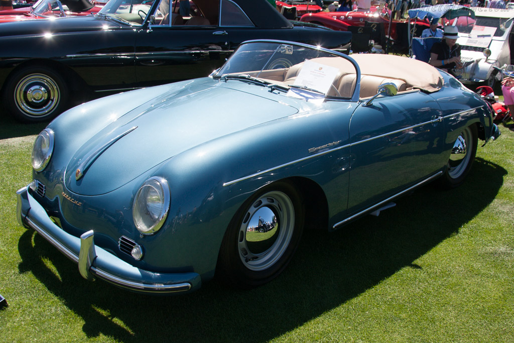 Porsche 356A Speedster - Chassis: 82724 - Entrant: Curt & Gerry Pindler  - 2013 The Quail, a Motorsports Gathering