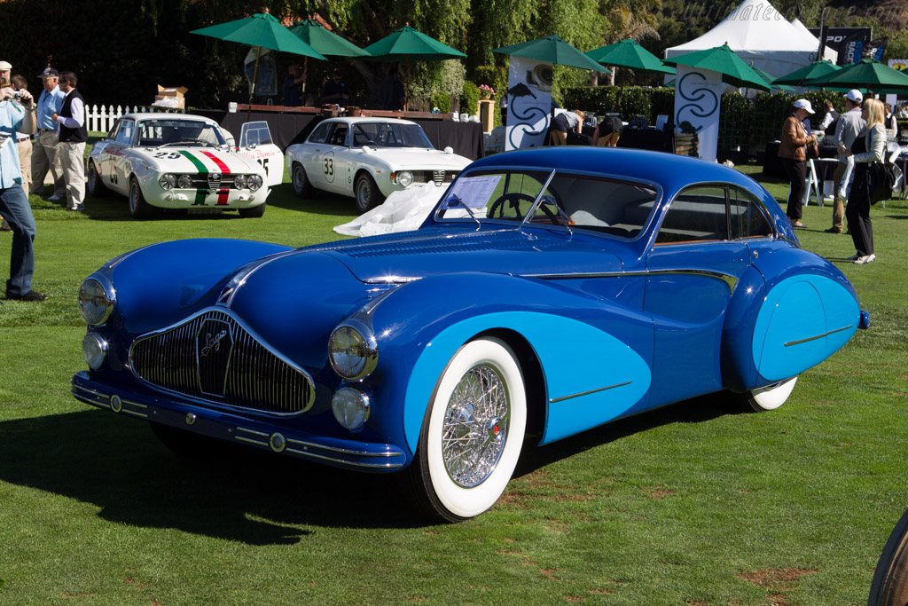 Talbot Lago T26 GS Saoutchik Coupe - Chassis: 110101 - Entrant: Mullin Automotive Museum  - 2013 The Quail, a Motorsports Gathering