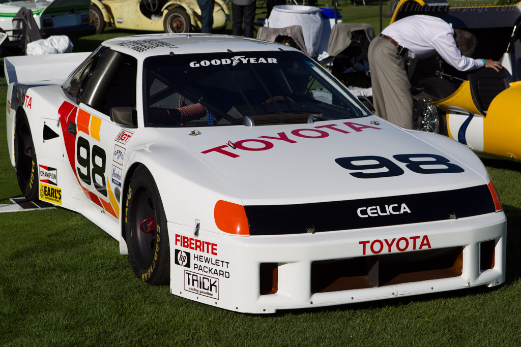 Toyota Celica IMSA GTO  - Entrant: Toyota Motor Sales U.S.A.  - 2013 The Quail, a Motorsports Gathering