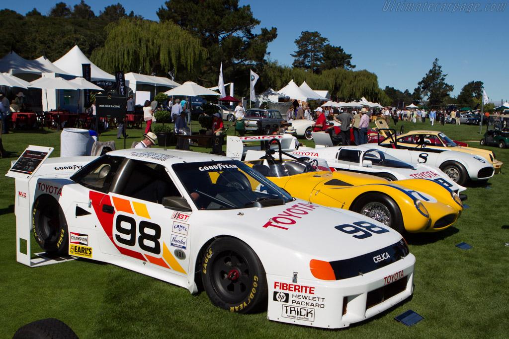 Toyota Celica IMSA GTO  - Entrant: Toyota Motor Sales U.S.A.  - 2013 The Quail, a Motorsports Gathering
