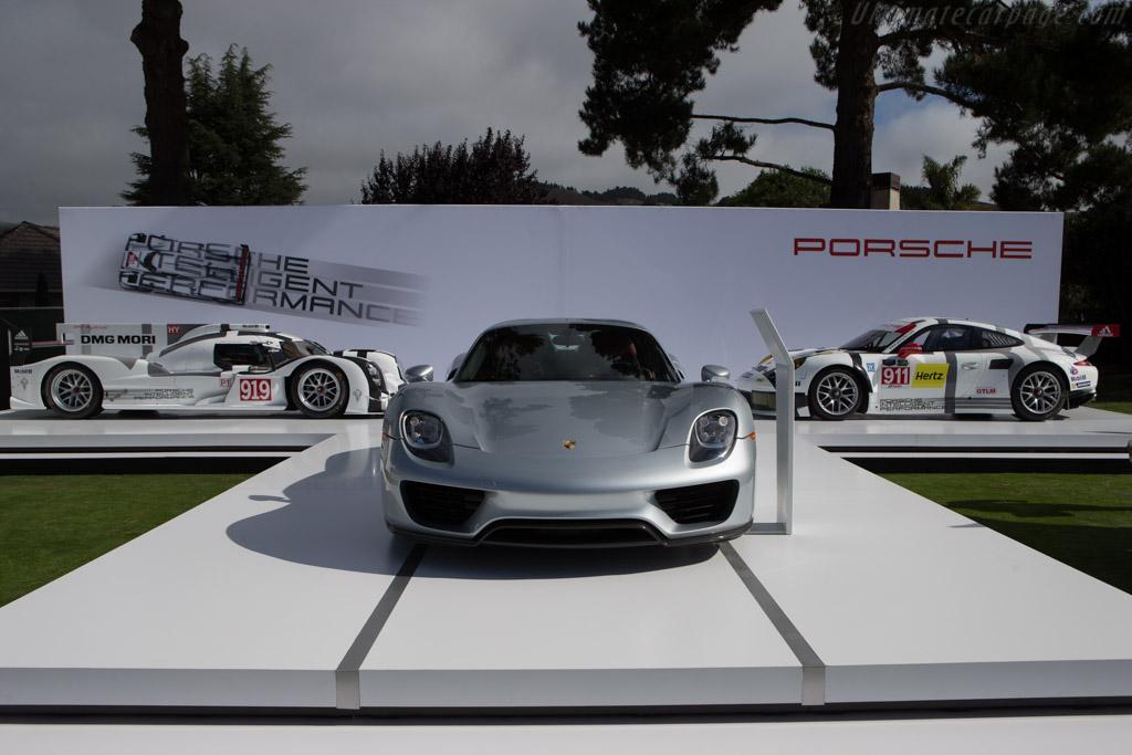 Porsche 918 Spyder 2014 The Quail A Motorsports Gathering