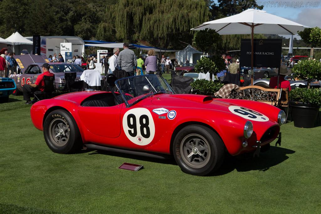AC Shelby Cobra 289 Team Car  - Entrant: David Heinecke & William H. Heinecke  - 2014 The Quail, a Motorsports Gathering