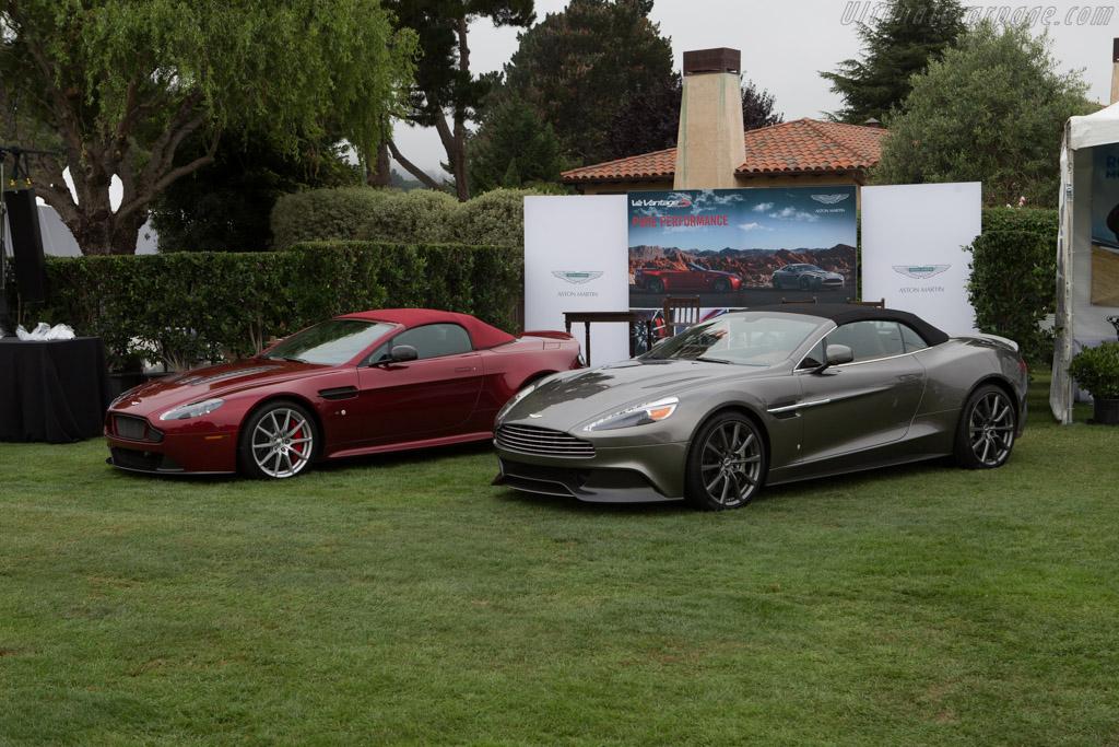 Aston Martin Vanquish Volante    - 2014 The Quail, a Motorsports Gathering