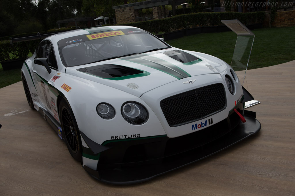 Bentley Continental GT3    - 2014 The Quail, a Motorsports Gathering
