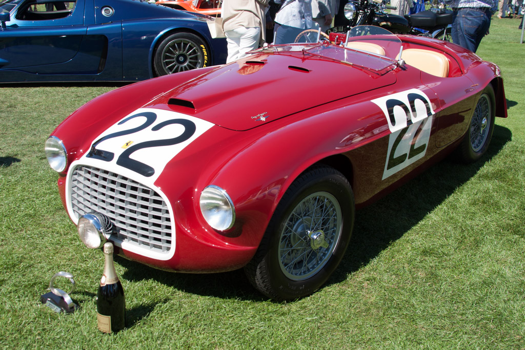 Ferrari 166 MM Barchetta - Chassis: 0008M - Entrant: Robert M. & Anne Brockinton Lee  - 2014 The Quail, a Motorsports Gathering