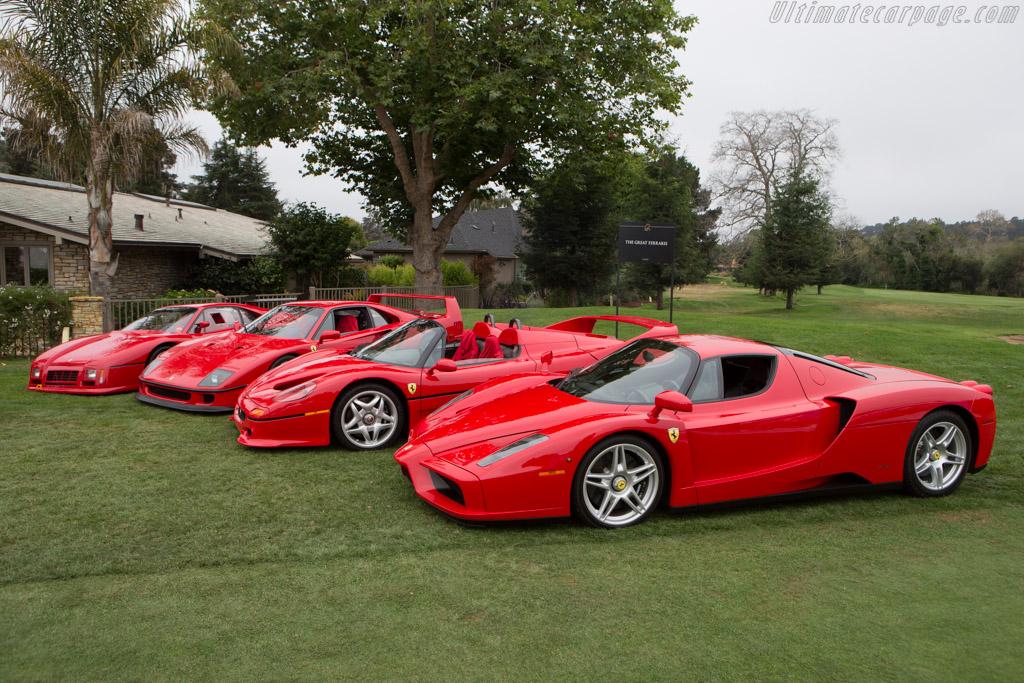 Ferrari Supercars  - Entrant: David SK Lee  - 2014 The Quail, a Motorsports Gathering