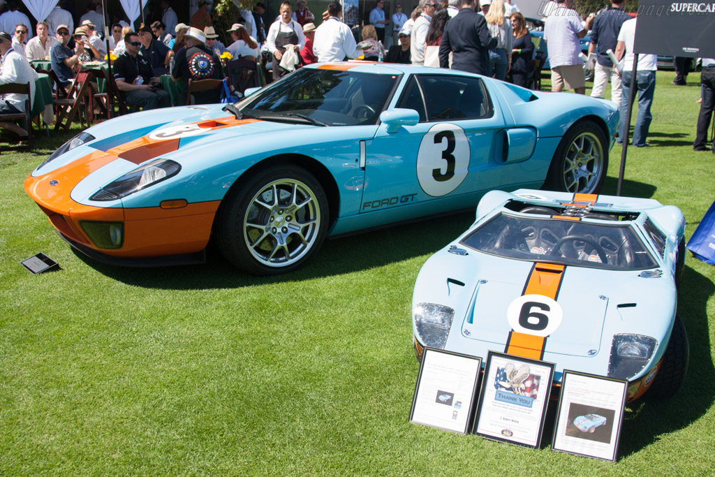 Ford GT  - Entrant: J. Robert Wilson  - 2014 The Quail, a Motorsports Gathering