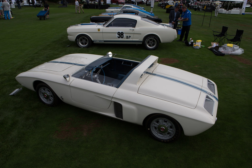 Ford Mustang I - Chassis: 1-M-1500 - Entrant: The Henry Ford  - 2014 The Quail, a Motorsports Gathering