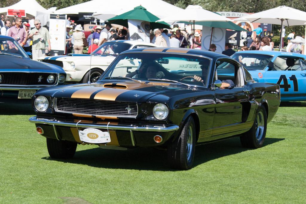 Ford Shelby Mustang Gt350 H Entrant Bill Scheffler