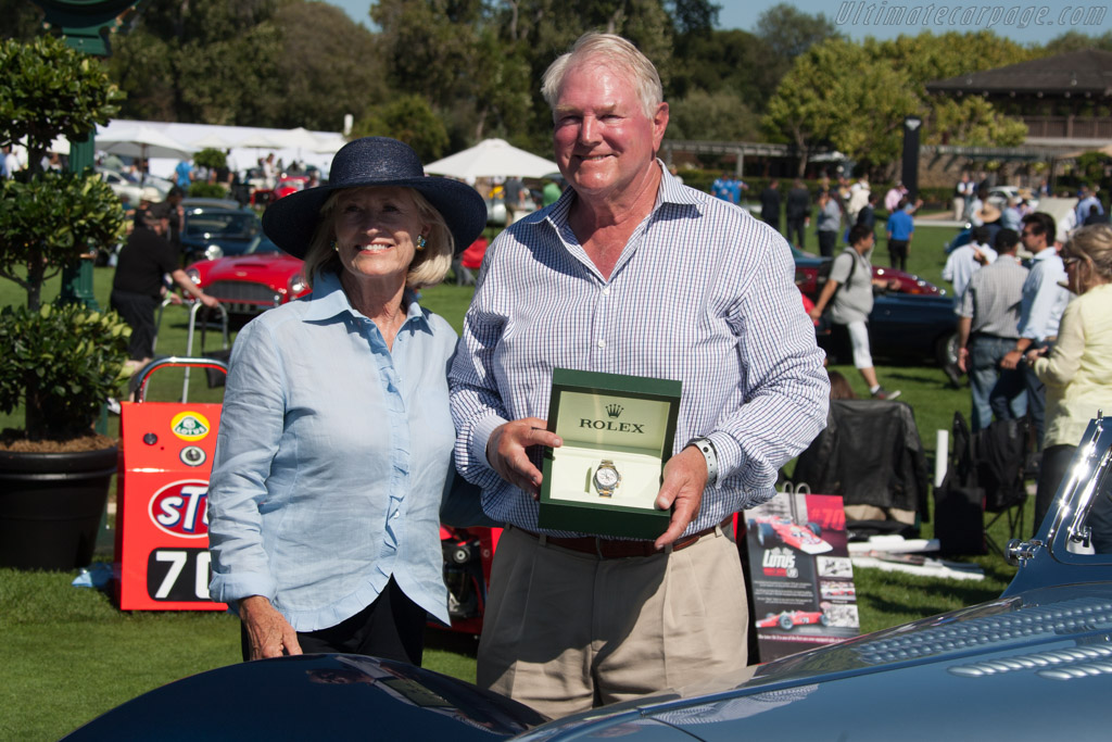 Gwen & Tom Price    - 2014 The Quail, a Motorsports Gathering