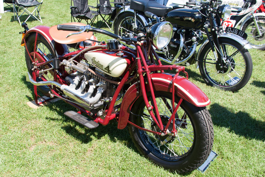 Indian Four  - Entrant: George McGuire  - 2014 The Quail, a Motorsports Gathering