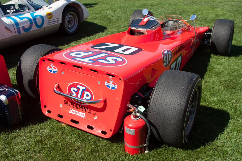 Lotus 56 Turbine - Chassis: 56/3 - Entrant: Milton Verret  - 2014 The Quail, a Motorsports Gathering