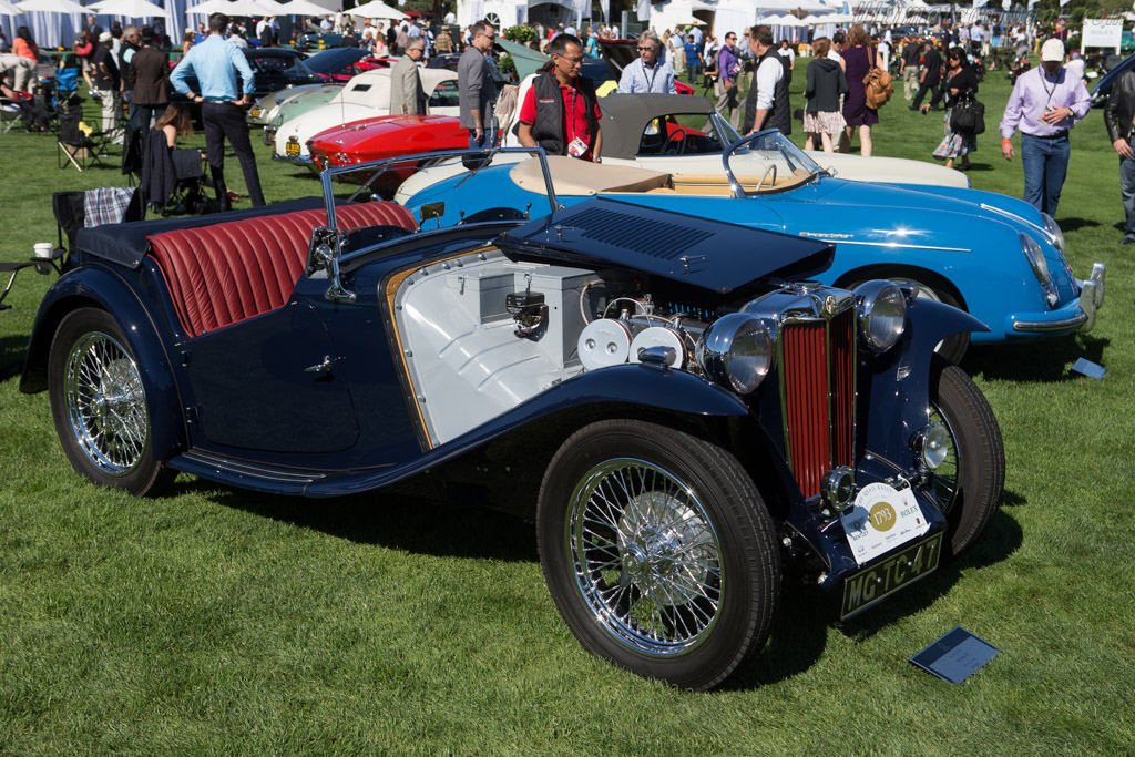 MG TC - Chassis: TC 3781 - Entrant: Peter Read  - 2014 The Quail, a Motorsports Gathering
