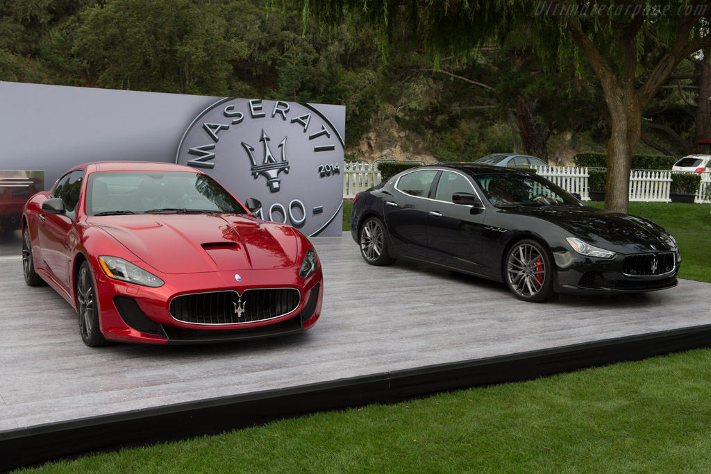 Maserati Granturismo Mc >> Maserati GranTurismo MC Stradale - 2014 The Quail, a Motorsports Gathering