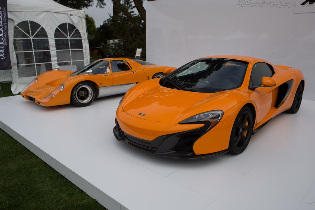 McLaren 650S Spider    - 2014 The Quail, a Motorsports Gathering