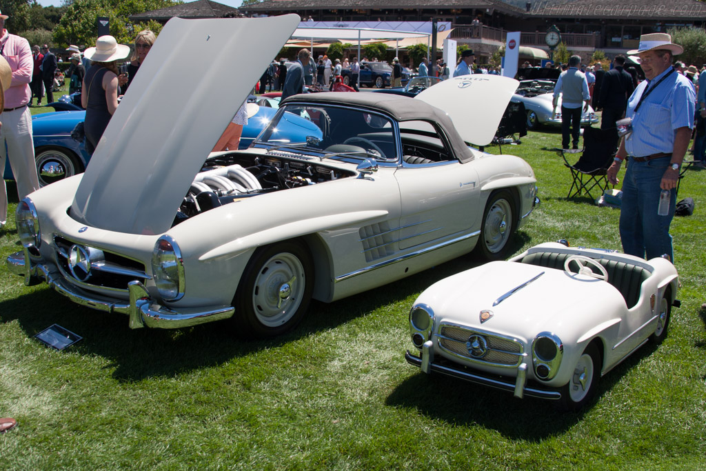 Mercedes-Benz 300 SL Roadster  - Entrant: Nick Clemence  - 2014 The Quail, a Motorsports Gathering