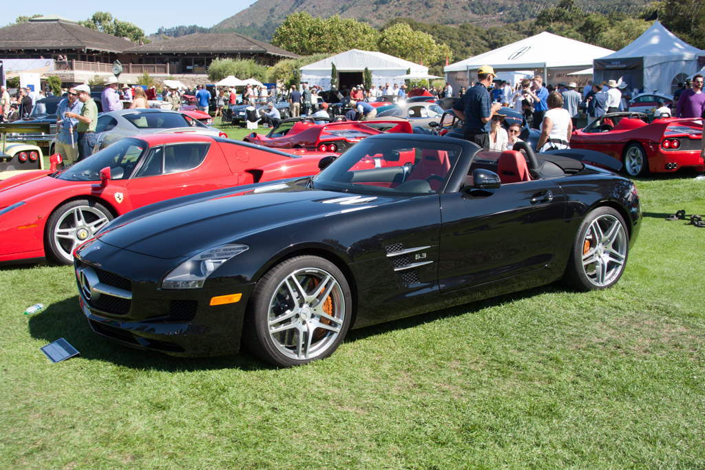 Mercedes-Benz SLS AMG GT Roadster  - Entrant: Ed & Joan Tomeo  - 2014 The Quail, a Motorsports Gathering