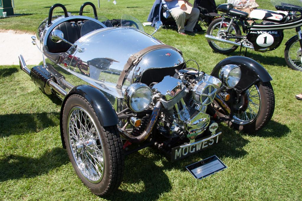 Morgan 3-Wheeler  - Entrant: Dennis & Pamela Glavis  - 2014 The Quail, a Motorsports Gathering