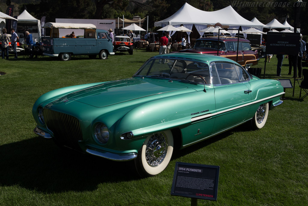 Plymouth Explorer by Ghia  - Entrant: Petersen Automotive Museum  - 2014 The Quail, a Motorsports Gathering
