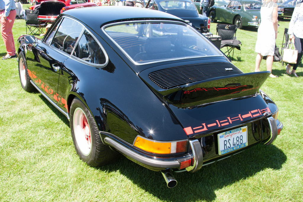 Porsche 911 Carrera Rs 2 7 Entrant Tex Otto 2014 The Quail A Motorsports Gathering
