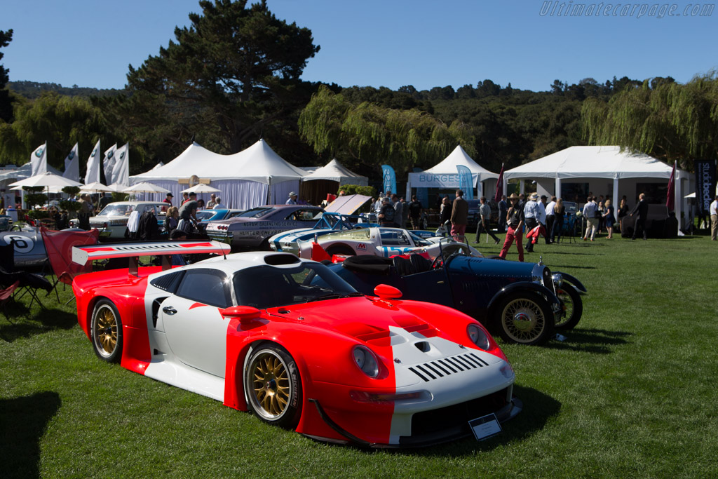 Porsche 911 GT1 - Chassis: 993-GT1-101 - Entrant: Kerry Morse  - 2014 The Quail, a Motorsports Gathering