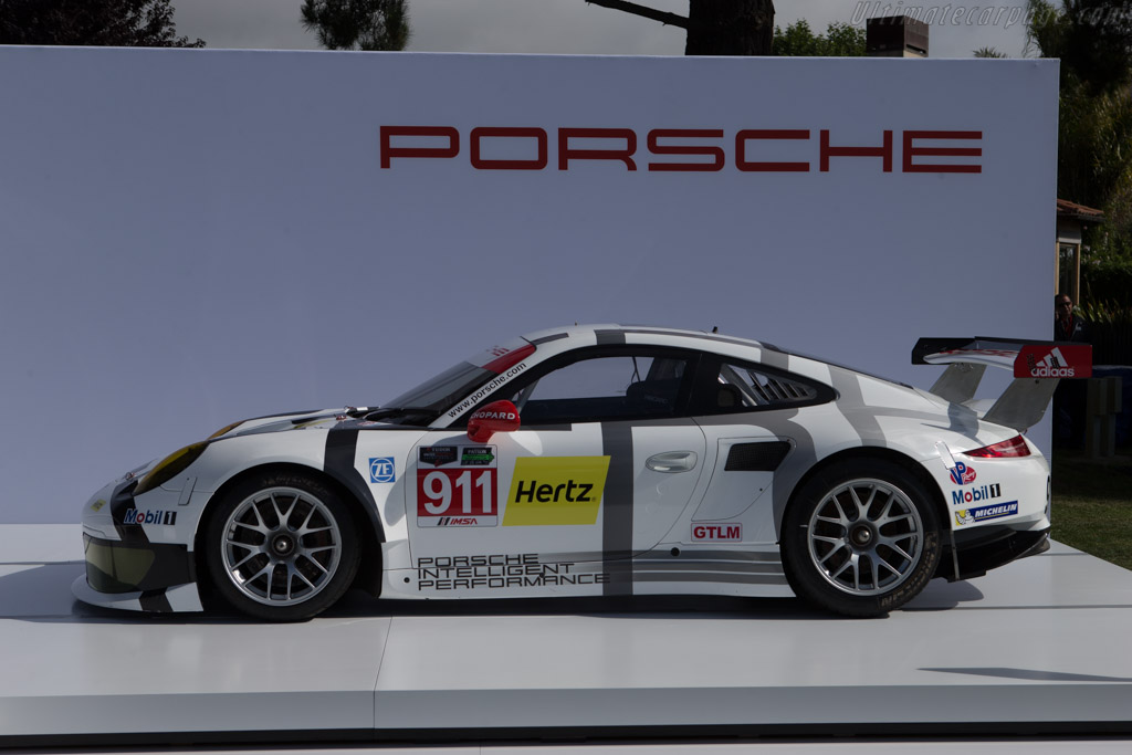 Porsche 911 RSR    - 2014 The Quail, a Motorsports Gathering