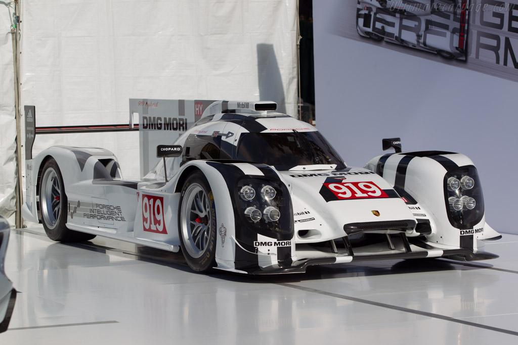Porsche 919 Hybrid    - 2014 The Quail, a Motorsports Gathering