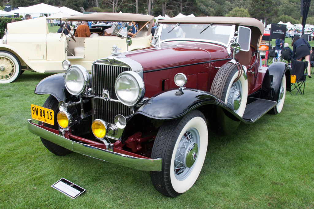 Stutz DV32 Boat Tail Speedster - Chassis: DV-28-1285 - Entrant: James M. Glickenhaus  - 2014 The Quail, a Motorsports Gathering