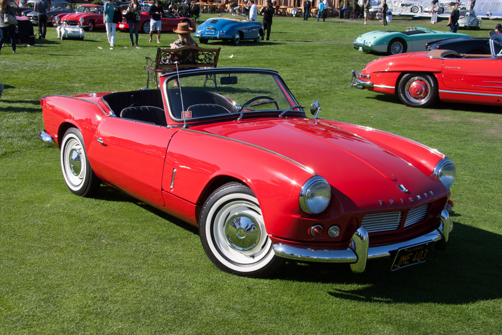 Triumph Spitfire Mk IV  - Entrant: Barry W. Connally  - 2014 The Quail, a Motorsports Gathering