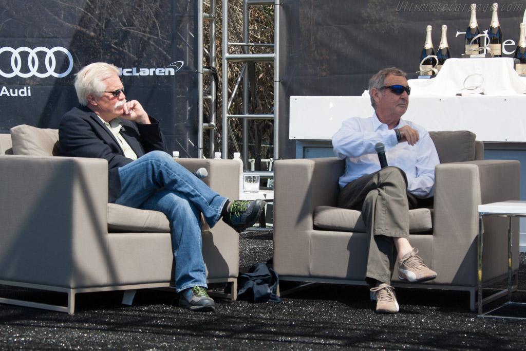 Wayne Carini with Nick Mason    - 2014 The Quail, a Motorsports Gathering