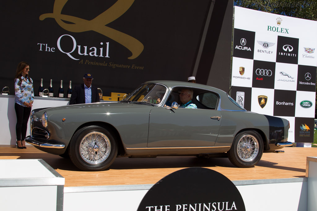 Alfa Romeo 1900 CSS 3 Window Coupe - Chassis: AR1900C 10166 - Entrant: Paul Colony - 2015 The Quail, a Motorsports Gathering