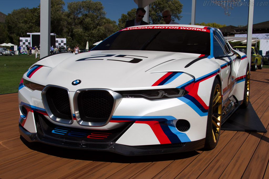 BMW 3.0 CSL Hommage R    - 2015 The Quail, a Motorsports Gathering