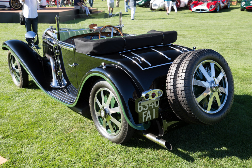 Bugatti Type 55 Billeter & Cartier Roadster - Chassis: 55206 - Entrant: John & Gwen McCaw  - 2015 The Quail, a Motorsports Gathering