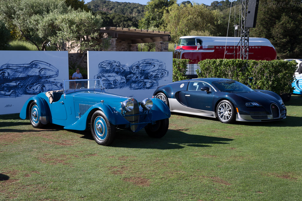 Bugatti Type 57 SC Corsica Roadster - Chassis: 57531  - 2015 The Quail, a Motorsports Gathering