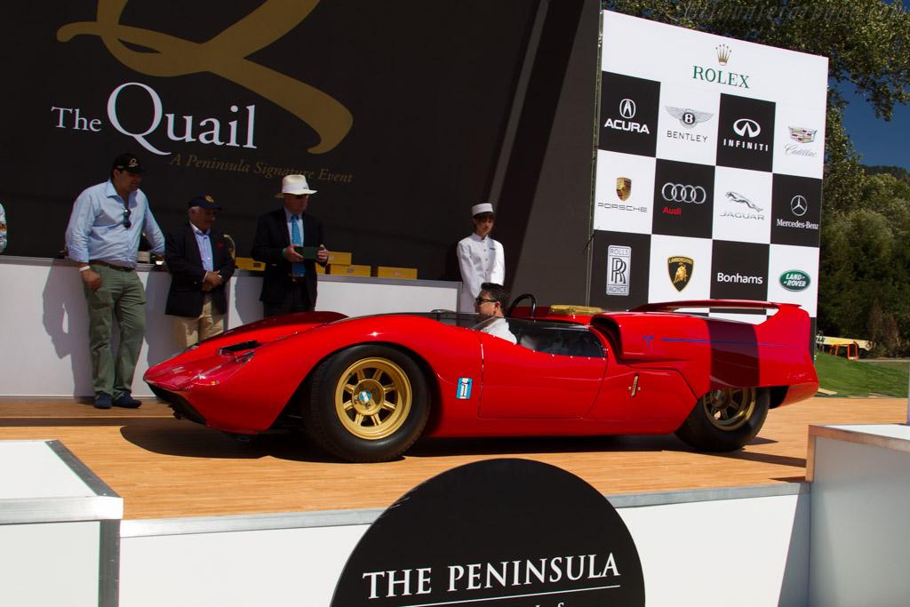 DeTomaso P70 - Chassis: 001 - Entrant: Mark Moshayedi  - 2015 The Quail, a Motorsports Gathering