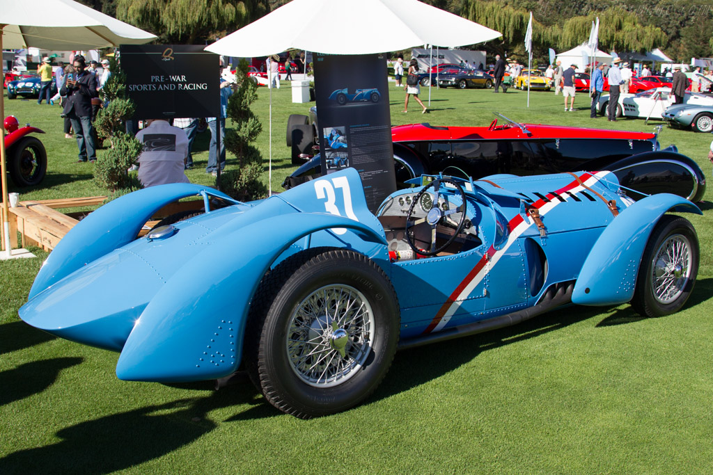 Delahaye 145 V12 - Chassis: 48771 - Entrant: Peter & Merle Mullin  - 2015 The Quail, a Motorsports Gathering