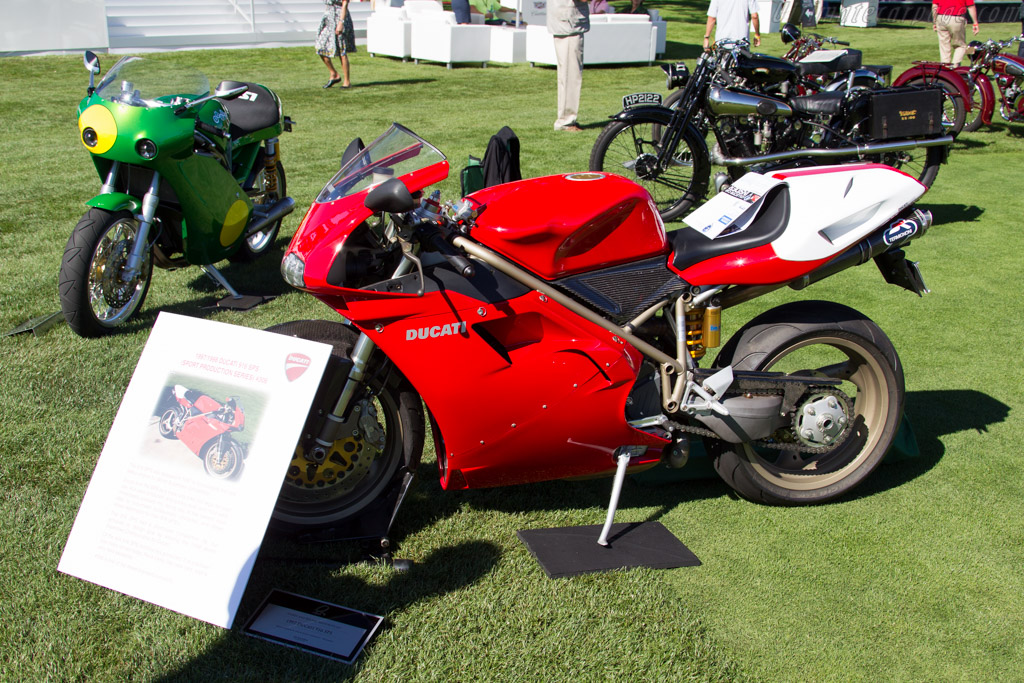 Ducati 916 SP5  - Entrant: Bruce Redding  - 2015 The Quail, a Motorsports Gathering