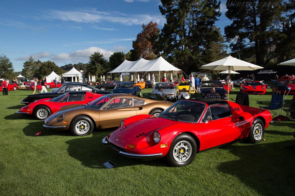 Ferrari 246 Dino GTS - Chassis: 07920 - Entrant: Stanley Elman - 2015 The Quail, a Motorsports Gathering