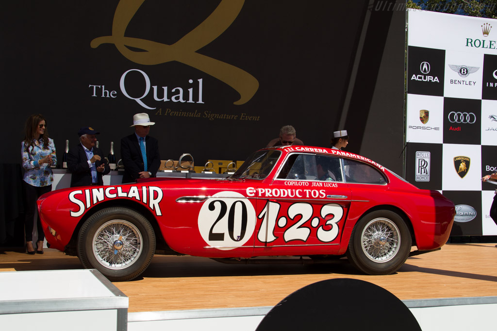 Ferrari 340 Mexico Vignale Berlinetta - Chassis: 0224AT - Entrant: Brian and Kim Ross  - 2015 The Quail, a Motorsports Gathering