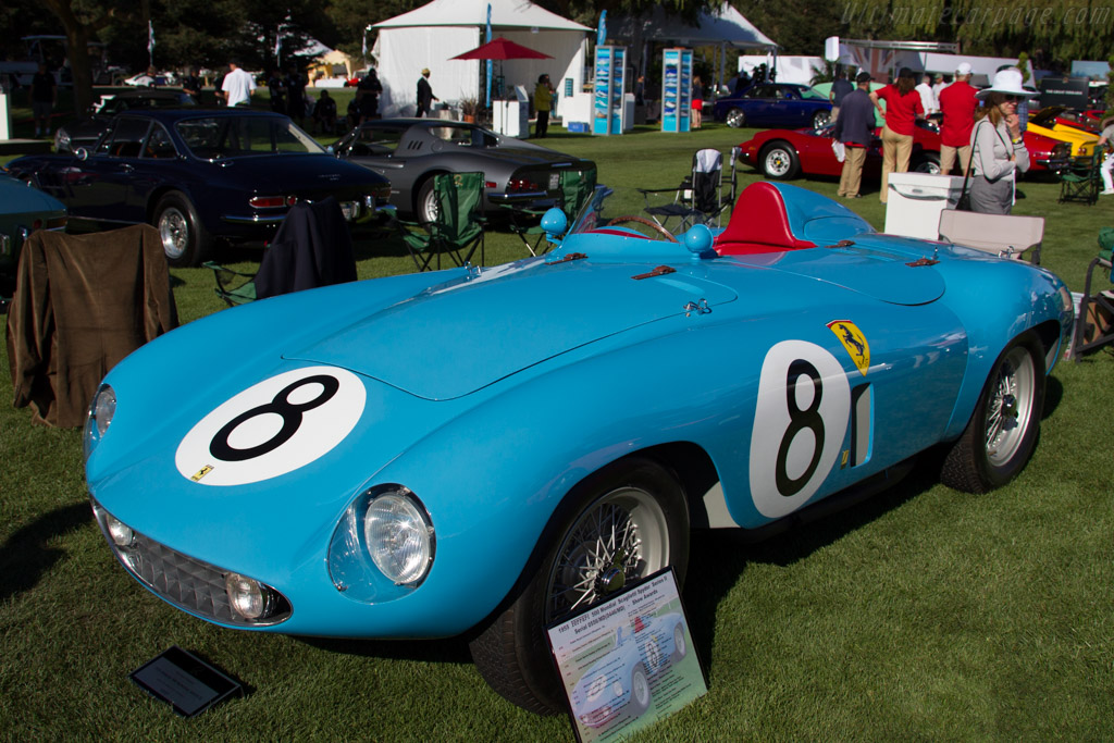 Ferrari 500 Mondial - Chassis: 0556MD - Entrant: RADM & Mrs. Robert Philips  - 2015 The Quail, a Motorsports Gathering