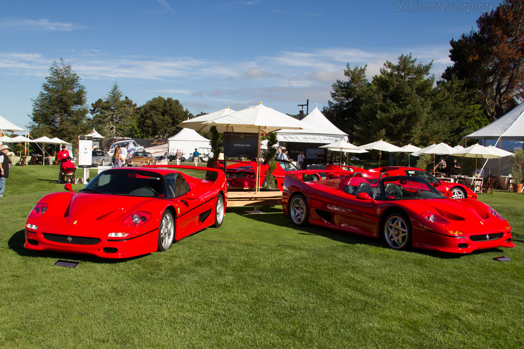 Ferrari F50    - 2015 The Quail, a Motorsports Gathering