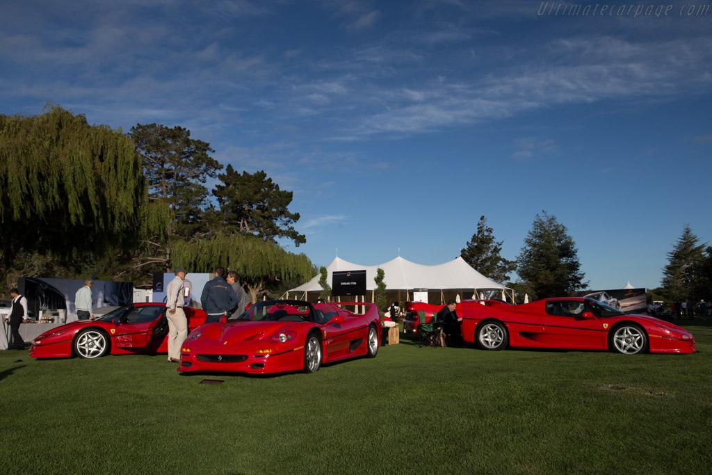 Ferrari F50 - Chassis: 103289 - Entrant: David Lee  - 2015 The Quail, a Motorsports Gathering